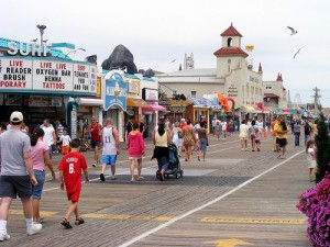 Boardwalk at Ocean City, NJ
