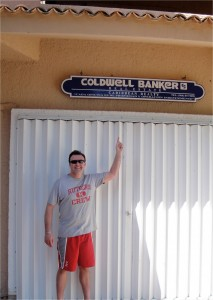 Local Coldwell Banker office in Puerto Aventuras, Mexican Riviera