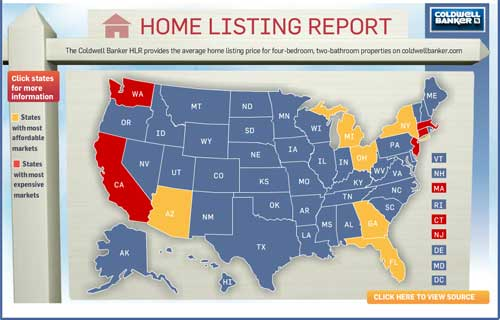 hlr Coldwell Banker Home Listing Report – Our Look at Housing Markets