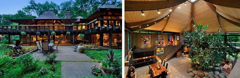 Two Coldwell Banker Homes For Sale Inspired By Frank Lloyd