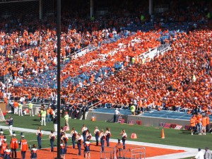 University of Illinois football game