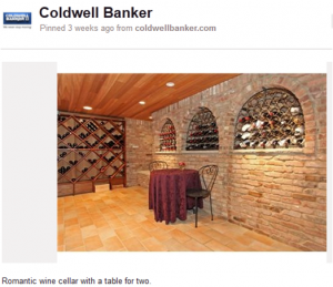 This wine cellar is one of the many gems in a home, from my hometown Livingston, NJ, that I found listed on coldwellbanker.com. My dream home will definitely include a wine cellar like this!