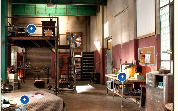 burn notice loft The Five Most Interesting Homes on TV.