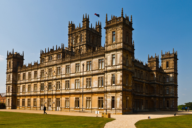 downton abbey The Five Most Interesting Homes on TV.