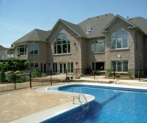 Swimming pools can be a valuable amenity in a new home.