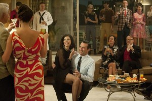 Draper Party 300x199 Outstanding Home in a Drama Series: Mad Men