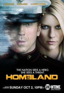 The Emmy Nominated Homeland on Showtime