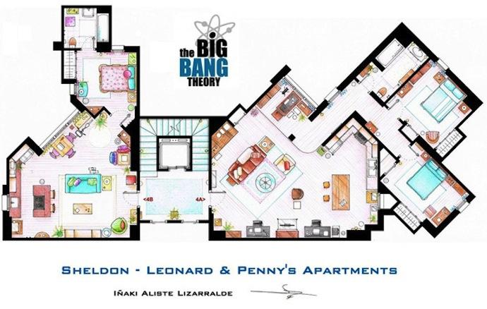 Floor Plans For Your Favorite Tv Homes Coldwell Banker Blue Matter