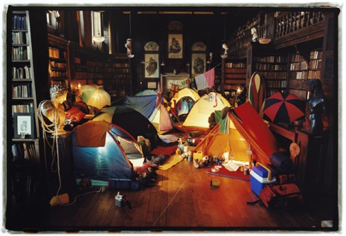 camp Family Fun At Home: Have an Indoor Camp Out