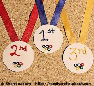 medals 300x276 Family Fun Month: Olympics at Your Home