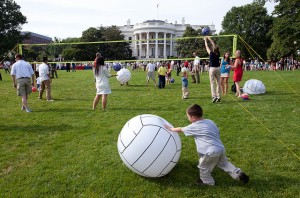 south lawn 300x198 Birthday Parties White House Style