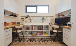 Contemporary homework space design by Sydney Interior Designer Kristie Paul