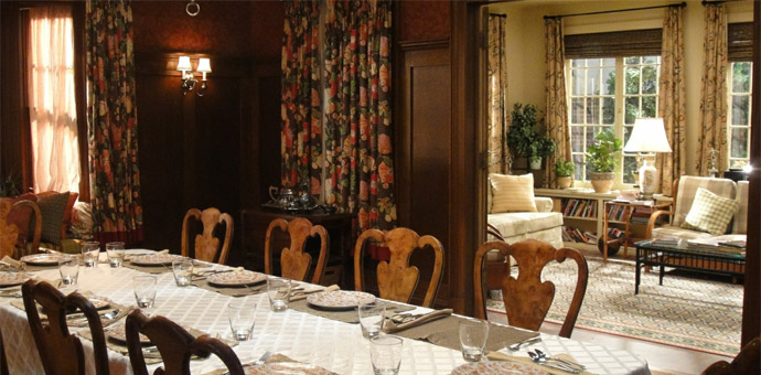 Blue Bloods Dining Room