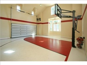 What dad really wants for father 39 s day coldwell banker for Homemade indoor basketball court