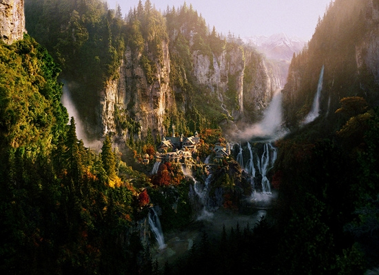 Empire Online Homes for 'The Hobbit' – Rivendell