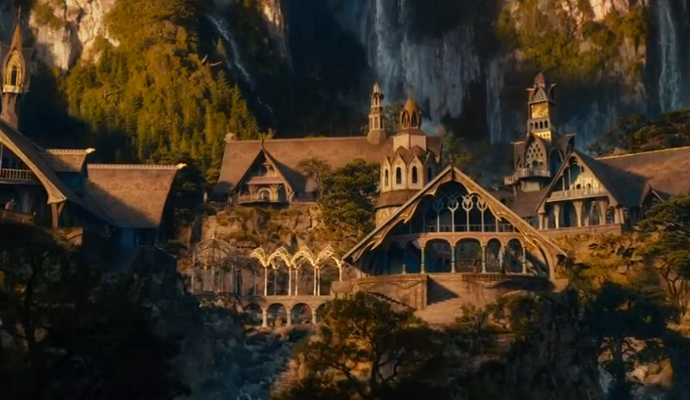 Rivendell Lord of the Rings Wiki Homes for 'The Hobbit' – Rivendell