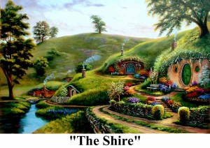The Shire 300x212 Homes for The Hobbit   The Shire