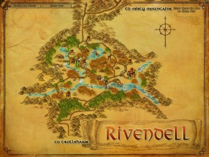 VisionoftheRing 300x225 Homes for 'The Hobbit' – Rivendell