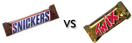round3snickersvtwix Home Sweet Home: Halloween Candy Battle (Final Four)