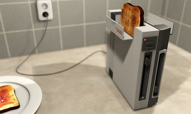 nes toaster Holiday Home Gift Guide: The Gamer