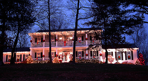 courtesy of spencercounty visitorsbureau The Most Festive Town in America   Santa Claus, Indiana