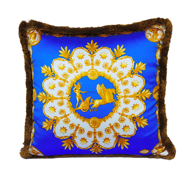 versace cushion Holiday Home Gift Guide: The Fashionista