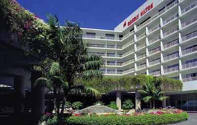 The Beverly Hilton The Home for the Golden Globe Awards   Beautiful Beverly Hills California 90210