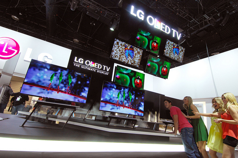lg ces booth Why the 2013 Consumer Electronics Show is a Look into the Future of Home