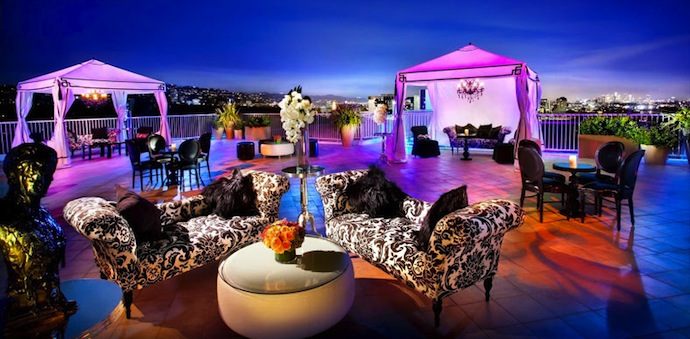 Rooftop at the Beverly Hilton Hotel