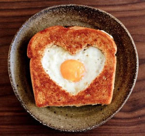 eggsinabasket 300x280 11 Breakfast In Bed Ideas for Valentines Day
