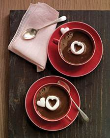 hot chocolate 11 Breakfast In Bed Ideas for Valentines Day