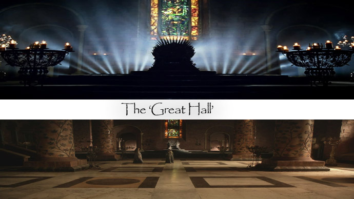 The Great Hall Game of Thrones: A Home Tour Through the Red Keep