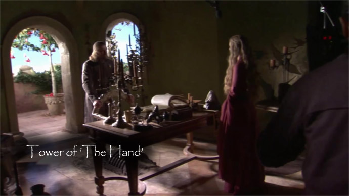 Tower of the Hand Game of Thrones: A Home Tour Through the Red Keep