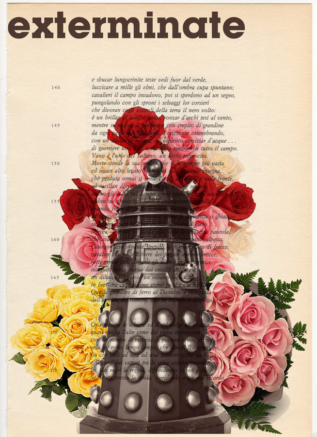 dalek wallprint Decorating Your Home with Dr. Who