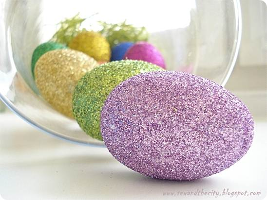 Glitter Easter Eggs 80 Creative and Fun Easter Egg Decorating and ...