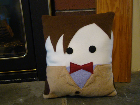 matt smith pillow Decorating Your Home with Dr. Who