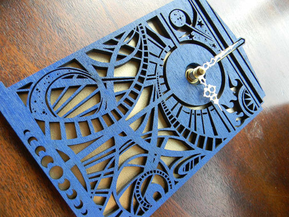 tardis clock Decorating Your Home with Dr. Who