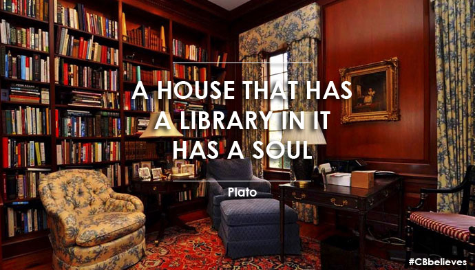 Fine Redefining A Home Library Coldwell Banker Blue Matter Largest Home Design Picture Inspirations Pitcheantrous