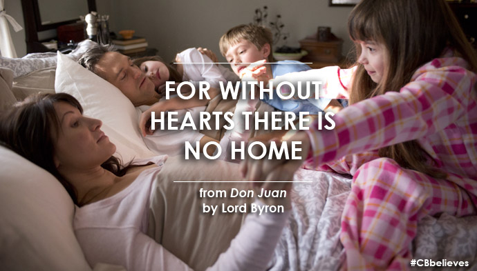 Lord Byron Quote about Home