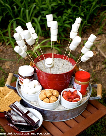 Smores 16 Menu Ideas for Your House Party