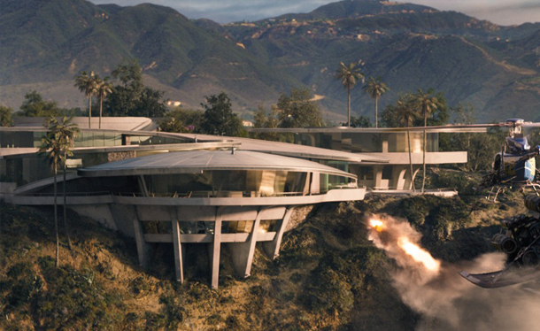 tony stark mansion 2 Iron Man 3: Tony Stark and His Astonishing Home