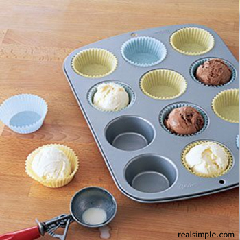 ice cream muffin pan