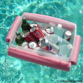 diy pool cooler