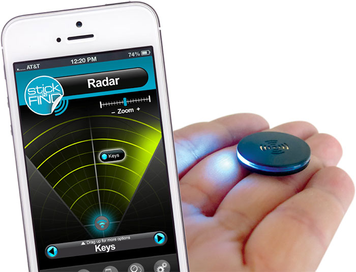 sticknfind radar hand Never Lose Stuff in Your House Again