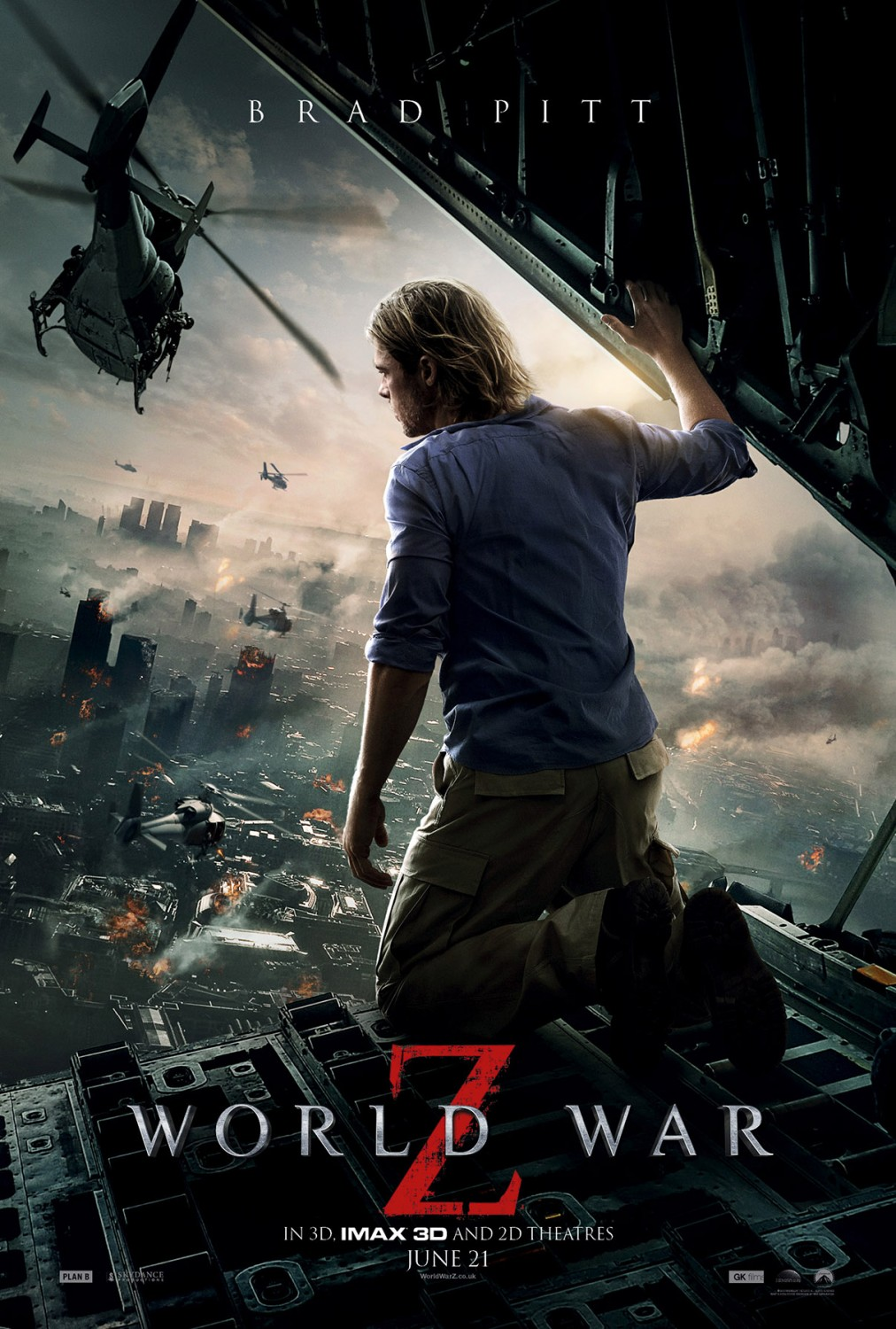 world war z movie poster Homes that are Ready for World War Z