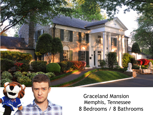 Justin Graceland Homes from VMA Nominee Hometowns