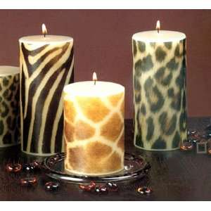 candles 12 Ways to Decorate with Animal Print
