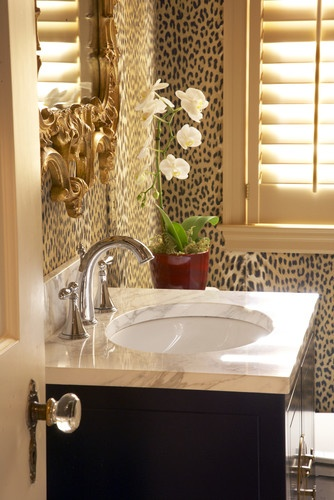 leopard print 12 Ways to Decorate with Animal Print