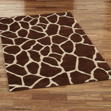 rug1 12 Ways to Decorate with Animal Print