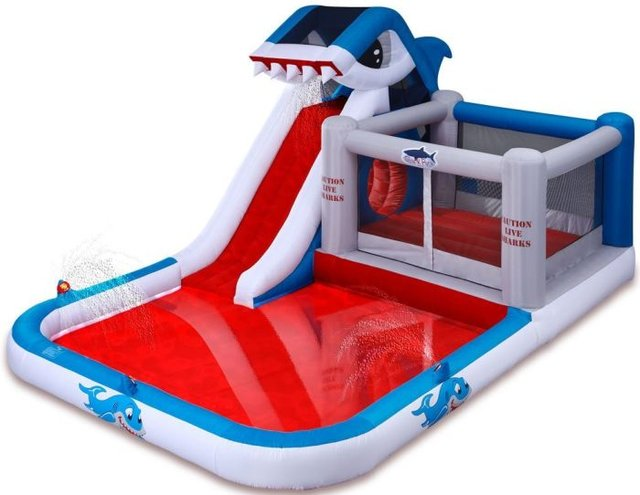 Backyard Shark Water Park